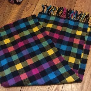 Multi color patterned scarf